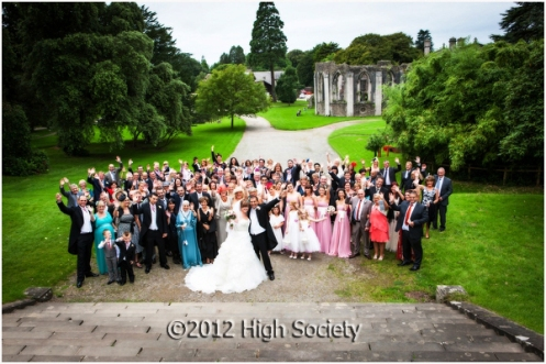 Margam Orangery wedding of Natalie and Fawaz