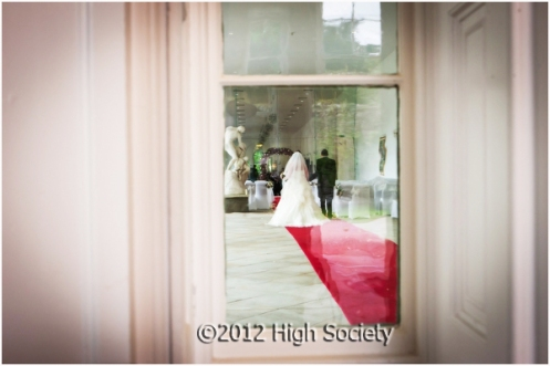 Natalie and Fawaz Margam Orangery wedding