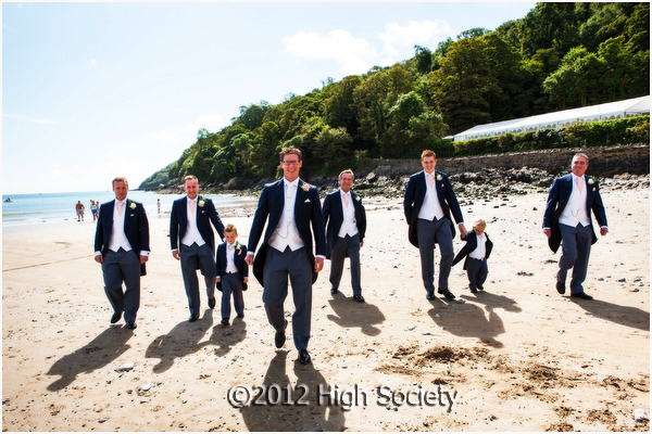 Oxwich Bay Hotel Wedding Photos Of Kirsty And Tom